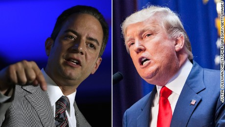 Donald Trump meets with RNC chair in Washington