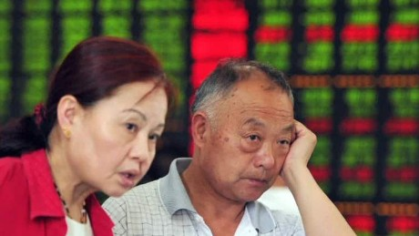 China stocks plummet darlington pkg wbt_00040915