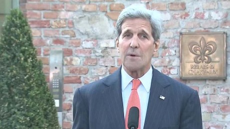 Kerry: 'We will not rush and we will not be rushed'