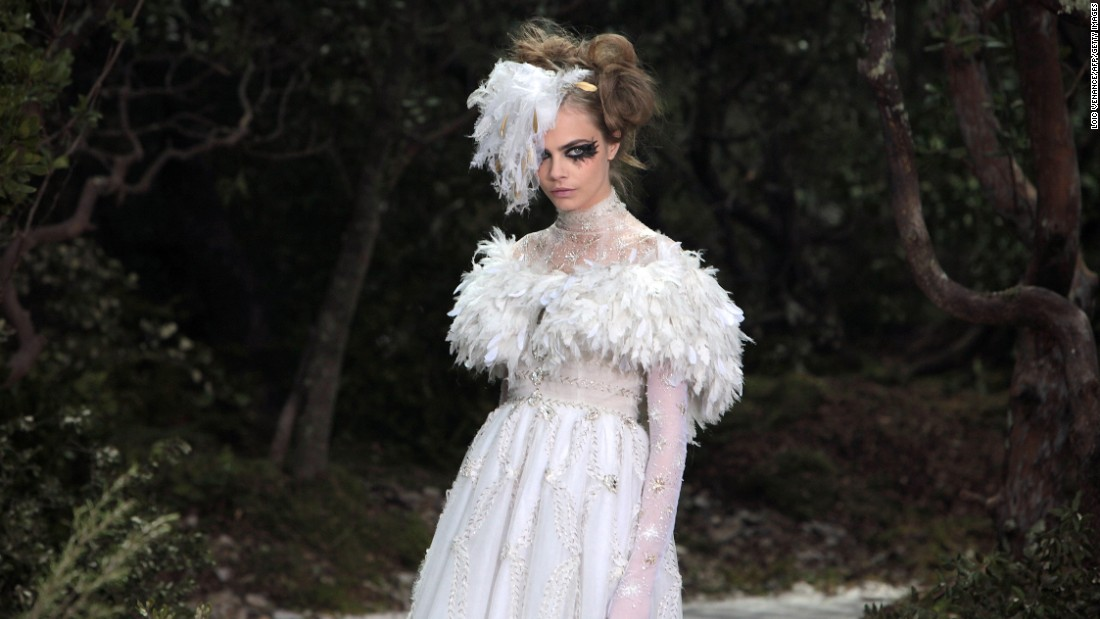 "The Chanel SS13 couture collection took <a href=""http://www.businessoffashion.com/articles/opinion/fashion-means-business-haute-couture"" target=""_blank"">200 people some 2,000</a> hours to produce."