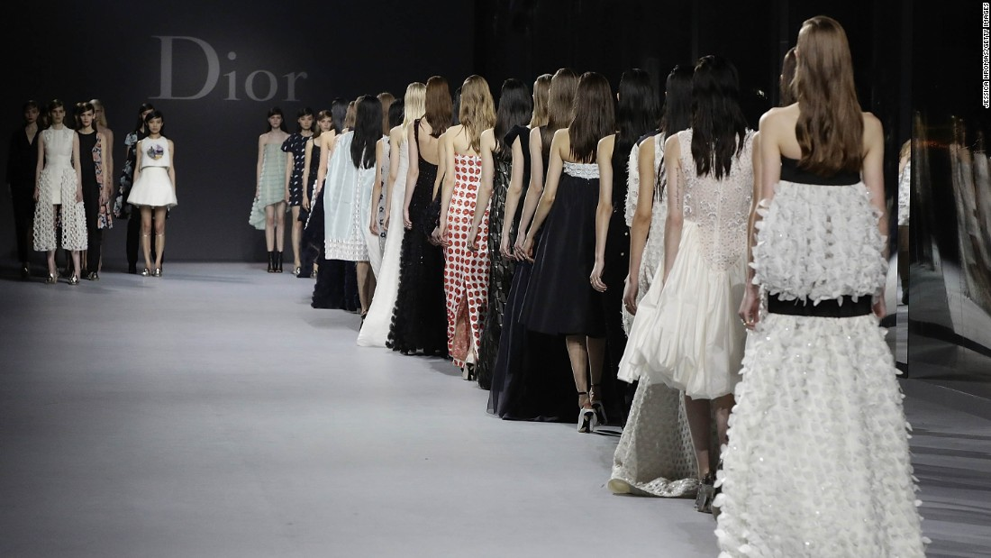 "Chinese ""encore"" shows are becoming more regular as couture houses head east after Paris. <br />This photo was taken at a Dior couture show in Hong Kong."