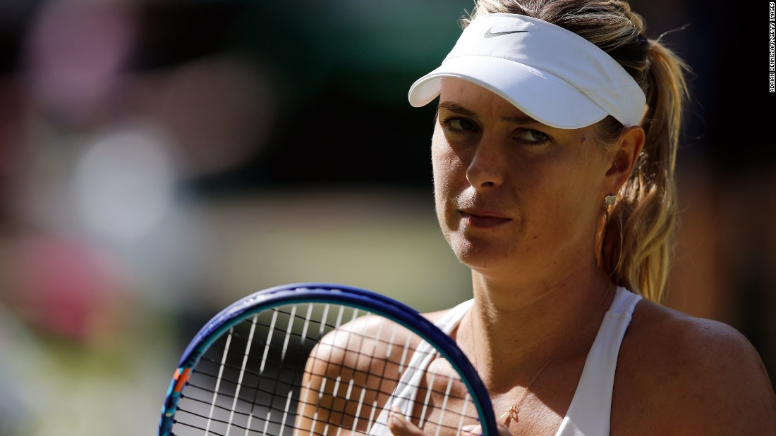 Sharapova hadn't beaten Williams since 2004. And the drought continues following her 6-2 6-4 defeat on Center Court.