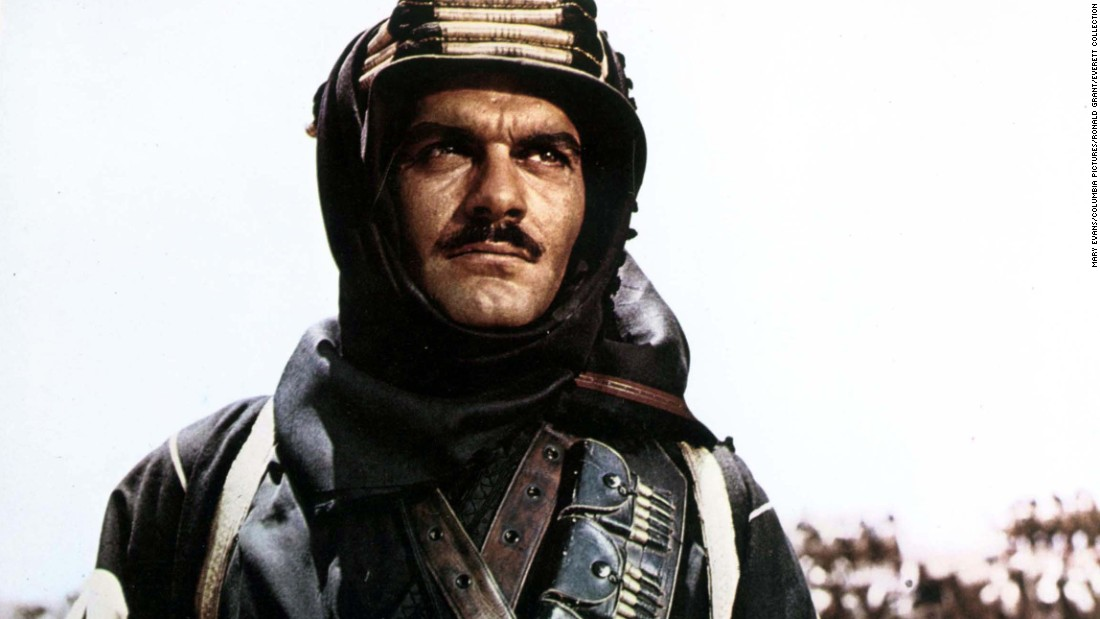 "Egyptian actor <a href=""http://www.cnn.com/2015/07/10/entertainment/omar-sharif-dies/"" target=""_blank"">Omar Sharif</a>, who co-starred with Peter O'Toole in ""Lawrence of Arabia,"" died Friday, July 10, after suffering a heart attack in Cairo, according to his agent, Steve Kenis. Sharif, who also starred in ""Doctor Zhivago"" and ""Funny Girl,"" was 83."