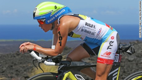 Pro triathlete Mirinda Carfrae says training feels great to her some days, but she admits it's work other times.