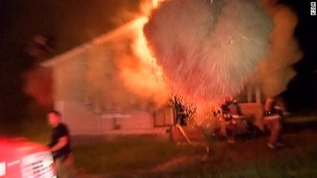 backdraft firefighters explosion home pkg new_00005703