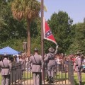 confederate flag removal south carolina capitol sot_00003010