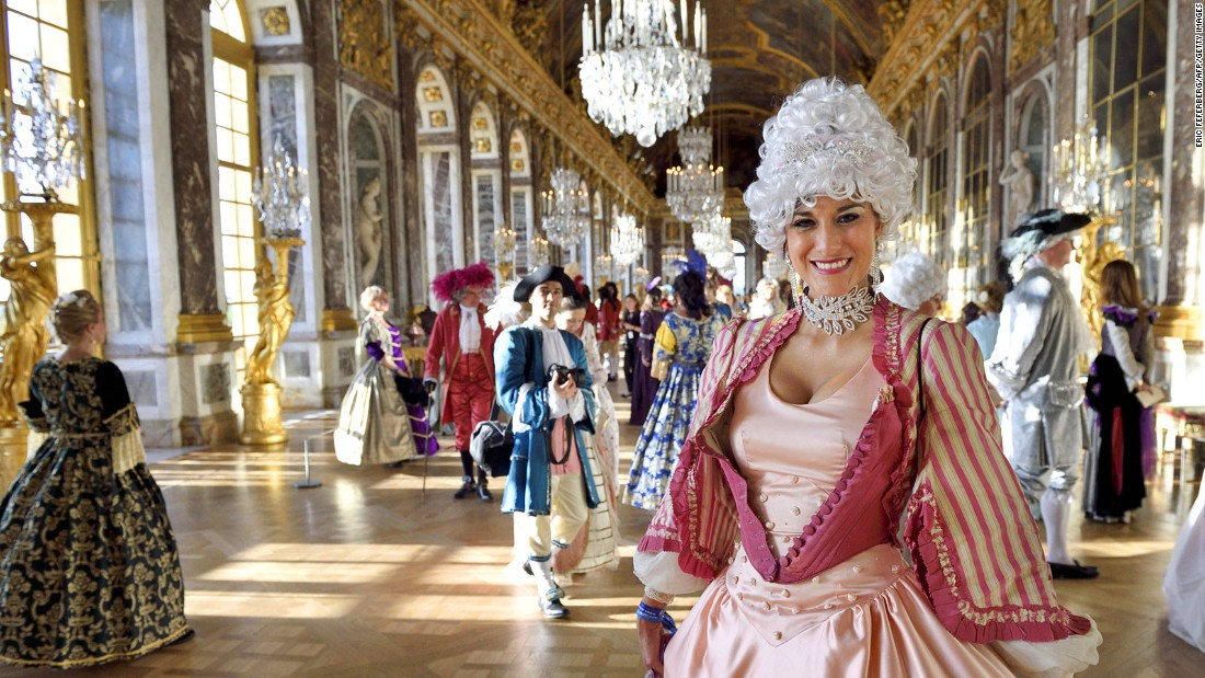 South of Paris, the breathtaking Palace of Versailles was transformed by Louis XIV from a hunting lodge to a prominent chateau. It was the political capital and the seat of the royal court from 1682 to 1789. Highlights of the palace include acres of lawns and fountains, its Hall of (357) Mirrors and its stunning chapel.