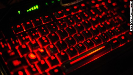 A keyboard is seen during the DreamHack Valencia 2014 on July 18, 2014 in Valencia, Spain.