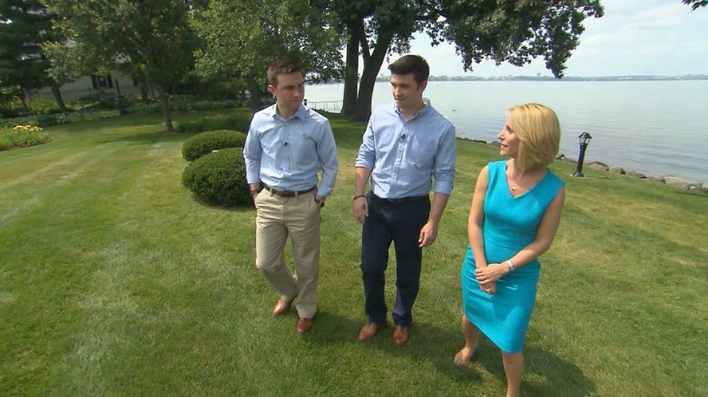 Scott Walker's sons: We're not trying to change his mind