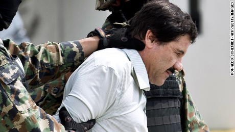 Drug lord 'El Chapo' escaped via 20-inch hole in wall