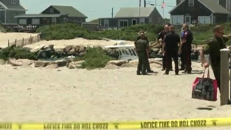 Rhode Island beach evacuated after unexplained blast