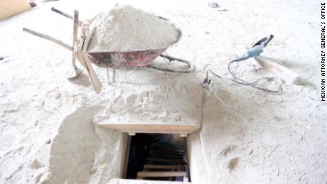 'El Chapo' hideaways: Look inside