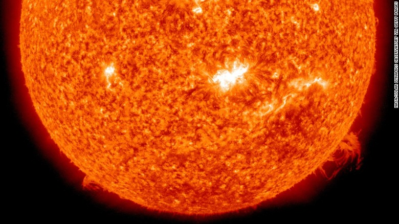 Mysterious 'heartbeat' caused by sunspot cycle