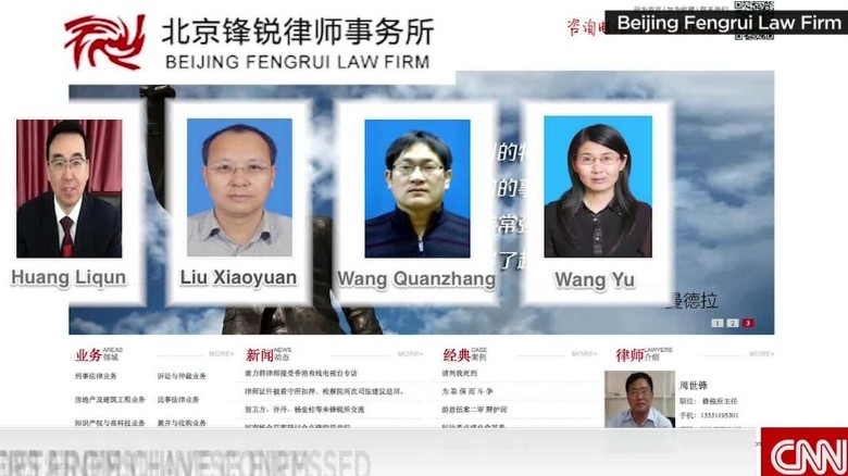 China detains human rights lawyers and activists