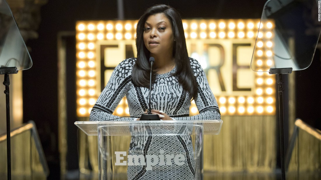 "<strong>Best actress in a television series -- drama:</strong> Taraji P. Henson, ""Empire"""