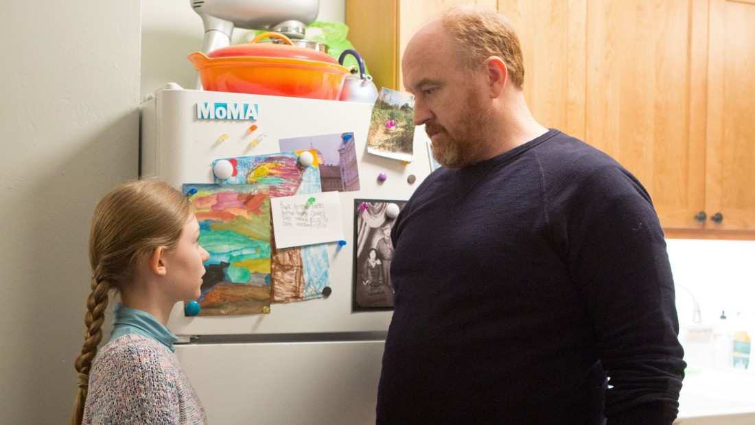 "LOUIE: Season 5, Episode 8 ""The Road Pt. 2"" (Airs Thursday, May 28, 10:30 pm e/p) -- Pictured: (L-R) Ursula Parker as Jane, Louis C.K. as Louie. CR: KC Bailey/FX."