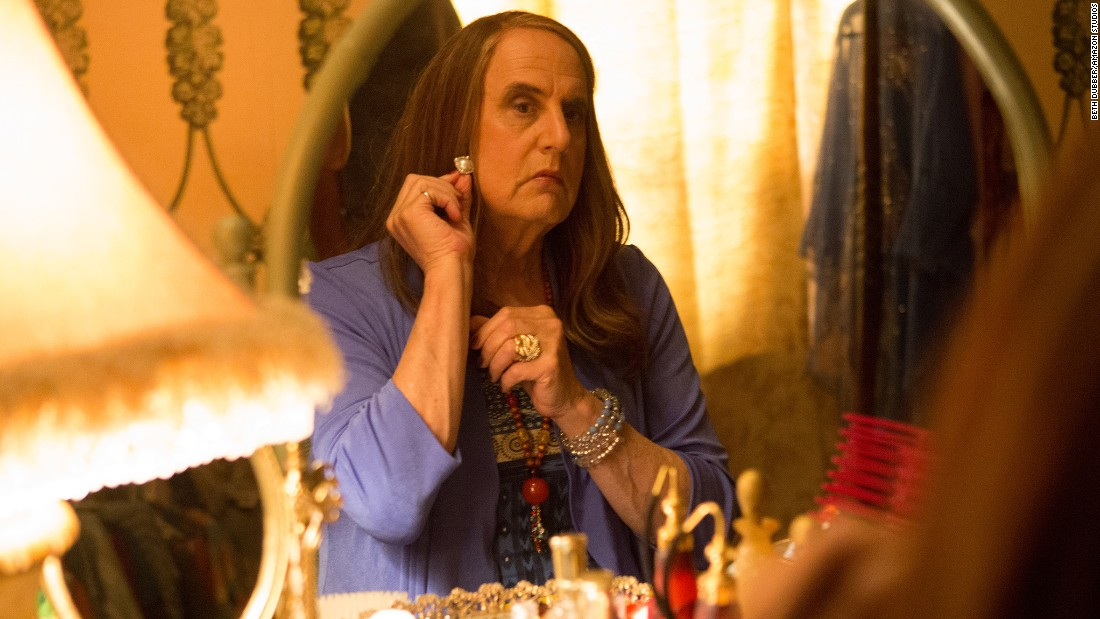 """Transparent"" starring Jeffrey Tambor is nominated best television series - musical or comedy. The other nominees are ""Casual,"" ""Mozart in the Jungle,"" ""Orange is the New Black,"" ""Silicon Valley"" and ""Veep."""