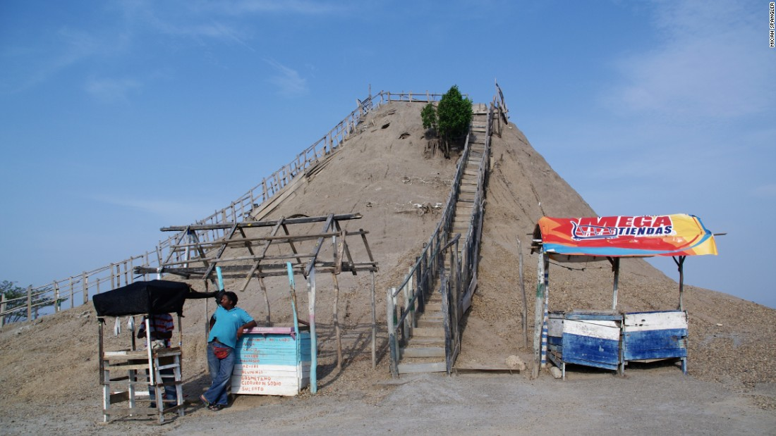 According to legend, a cleric armed with holy water tamed the fiery mount and transformed the molten lava into a soupy concoction of body-benefiting minerals. The mud volcano is located about 45 minutes from Cartagena.