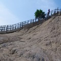 colombia mud volcano staircase