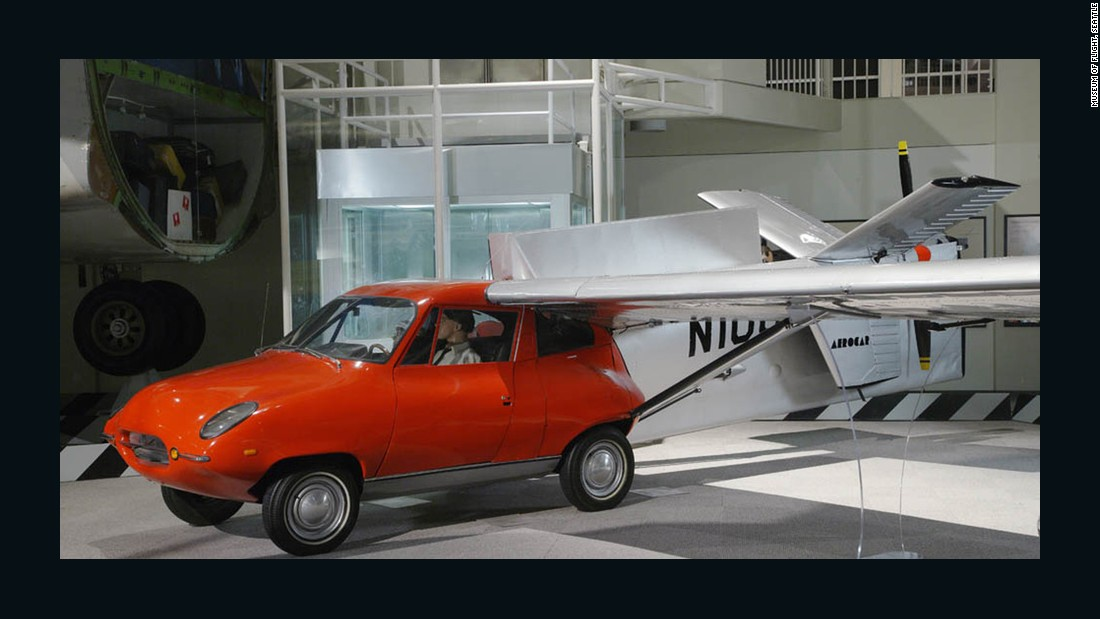 "In 1968, several Taylor Aerocar III's were built, though Hagedorn says they never really took off in the public eye. ""They were cumbersome and a little bit underpowered,"" he admits."