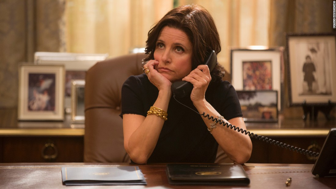 "<strong>""Veep"" Season 5</strong>: Julia Louis-Dreyfus and the White House gang are back in this HBO comedy.<strong> (iTunes) </strong>"