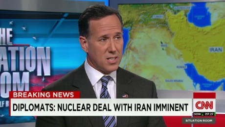 Presidential Candidate Rick Santorum joins The Situation Room with Wolf Blitzer _00005706