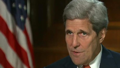 John Kerry discusses Iran nuclear deal in interview.
