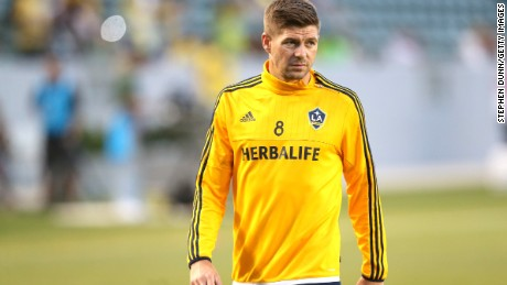 Steven Gerrard made 114 appearances for England, third most in history.