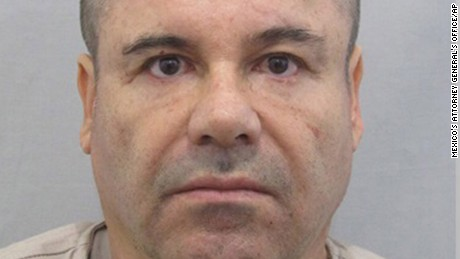 Why was 'El Chapo' Guzman held in Mexico?