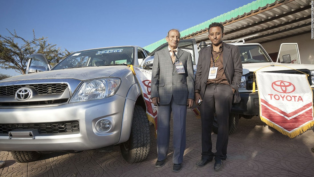 Toyota importers for Somaliland at the Hargeisa International Trade Fair
