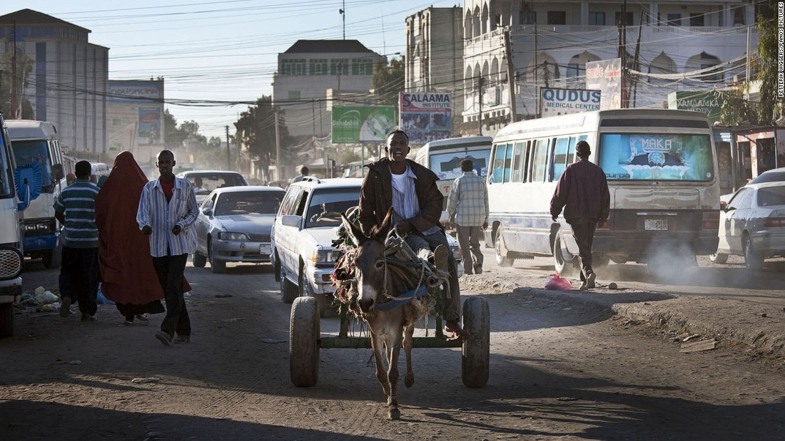 Donkey carts still ply the streets the capital, a sign that the city is still emerging from years of conflict and neglect.