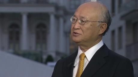 intv amanpour Yukiya Amano iran nuclear deal _00022925