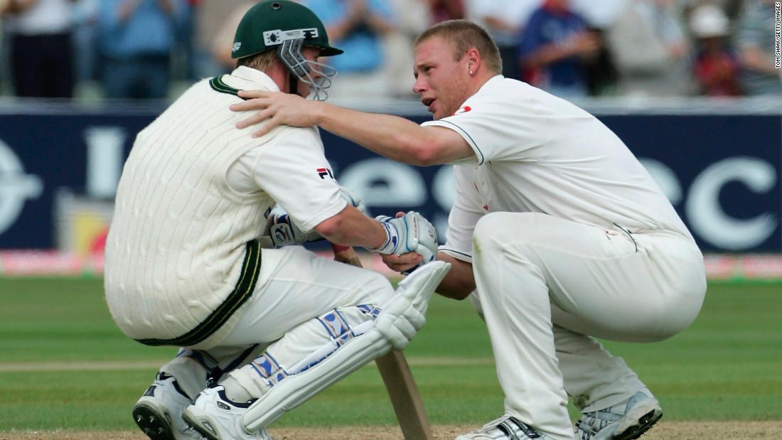 Edgbaston was the location for one of the great Ashes moments when England's Andrew Flintoff consoled Australia's Brett Lee after the home side won the Test by just two runs in 2005.