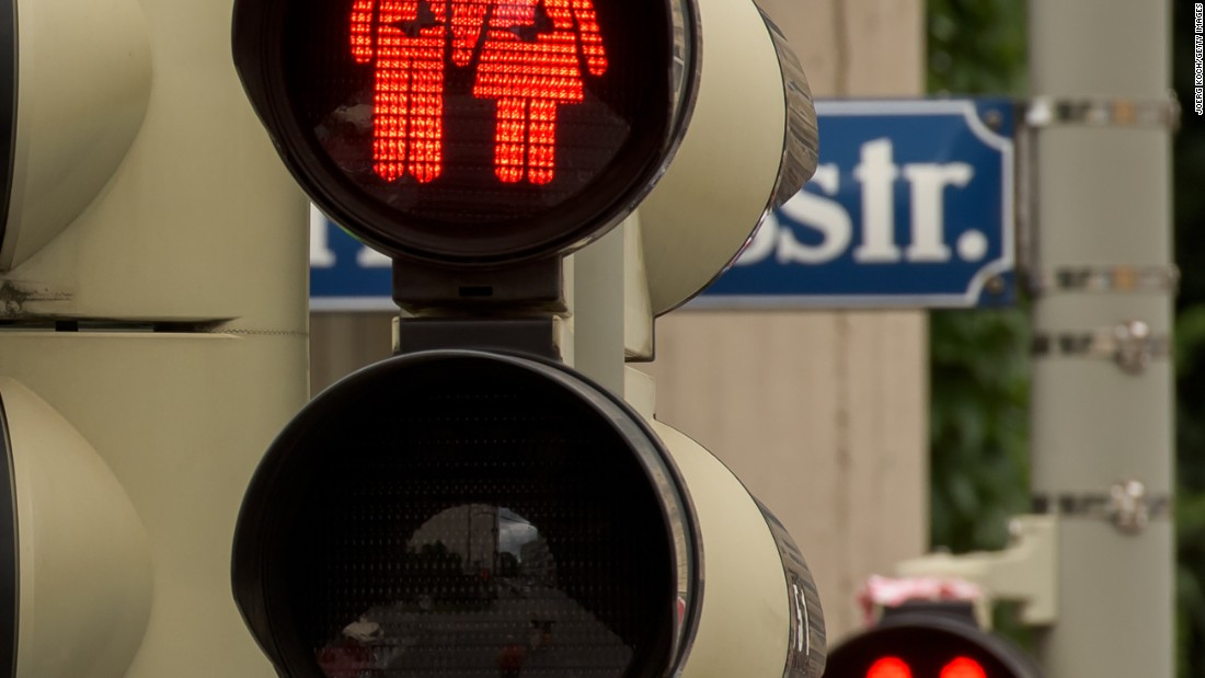 Other cities in Germany, including Berlin and Hamburg, are also seizing on the initiative to give gay and lesbian couples the green (and red) light in traffic signals. Europe has seen a surge in LBGT rights awareness in recent years.