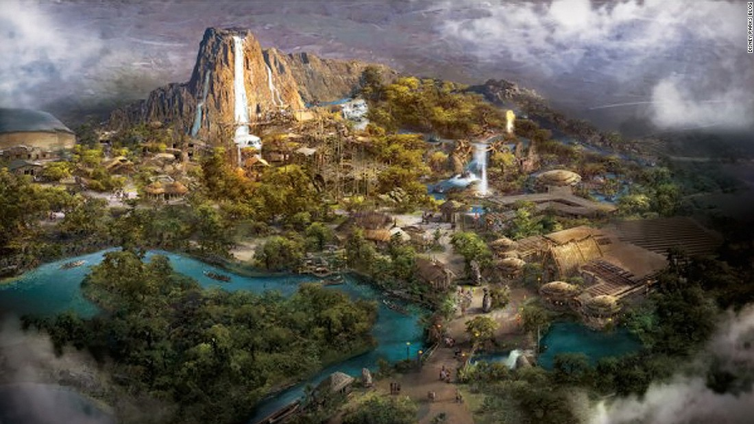 "Another Disney ""first"" for Shanghai is Adventure Isle, ""a mysterious land with an ancient legend about a native tribe, a giant reptilian creature and the mighty Roaring Mountain."""
