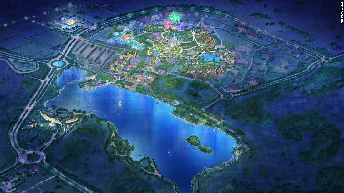 Disney has just revealed designs of the upcoming Shanghai Disneyland, which will be the brand's sixth in the world and third in Asia. It's also the first Disney theme park to open in the last 10 years.