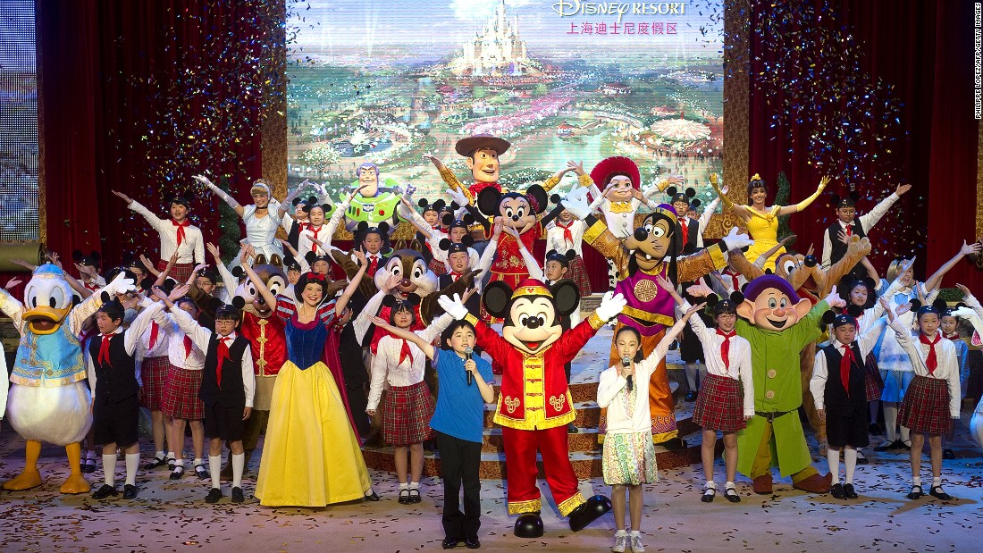 Shanghai Disneyland broke ground in 2011 and is expected to open in Spring 2016.