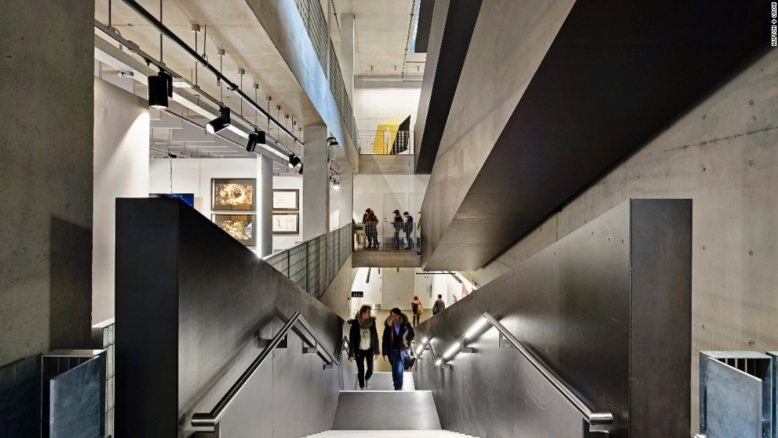 "Located within a UNESCO World Heritage Site, the University of Greenwich's new library, architecture and landscape school manages to lives harmoniously with the urban community that surrounds it, while offering its own inspirational  example of ""real architecture,"" RIBA said."