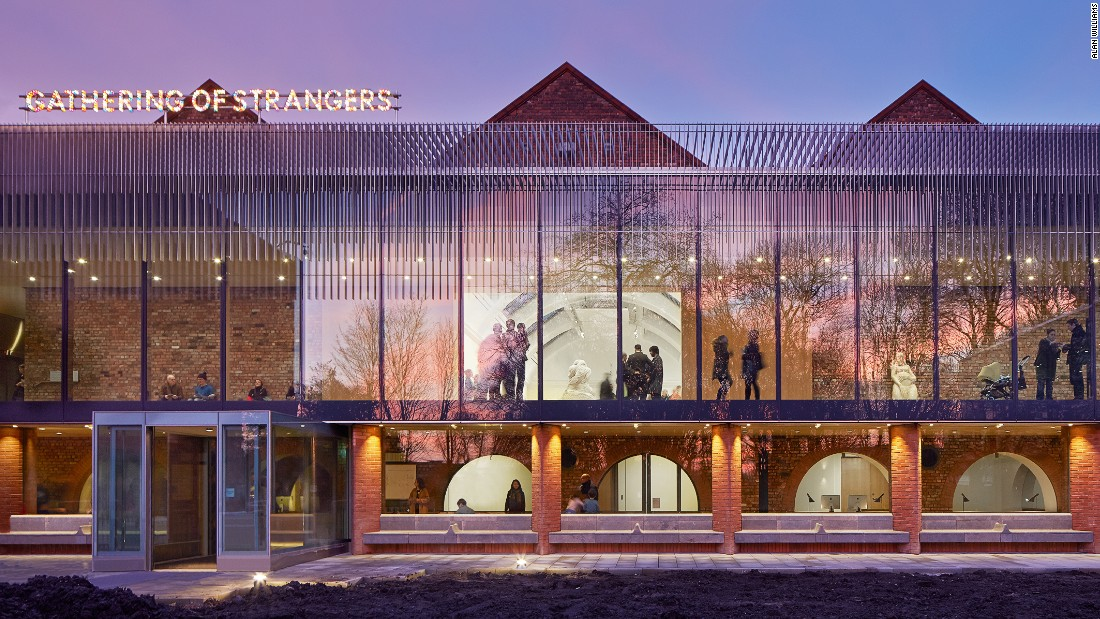"A bold extension to the University of Manchester's Whitworth art gallery integrates with the building's original 19th century structure. Judge's described the project as a ""tour de force,"" claiming ""the project has created an art gallery of truly international standard."""
