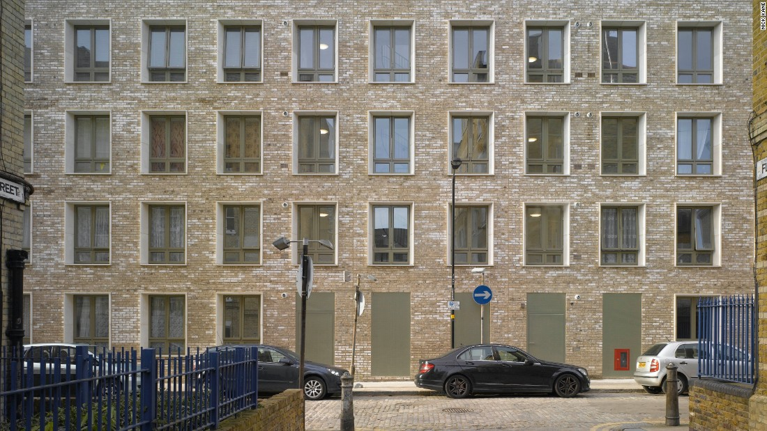 "This ""dignified"" social housing block at Darbishire Place, East London, replaces a Victorian mansion building bombed in World War II. Refined proportions, intuitive spatial planning and a subtle imitation of surroundings make the ordinary exceptional, claimed RIBA."