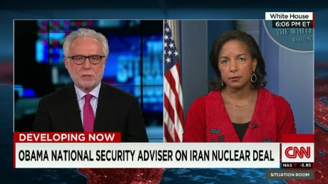 Obama National Secuirty Advisor on Iran Nuclear Deal _00011327