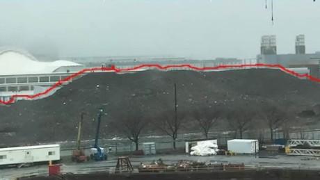 Boston snow pile melt timelapse vo_00000607