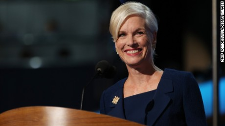 Cecile Richards, the Planned Parenthood president, criticized videos that show the organization's doctors discussing the sale of aborted fetal tissue on Sunday.