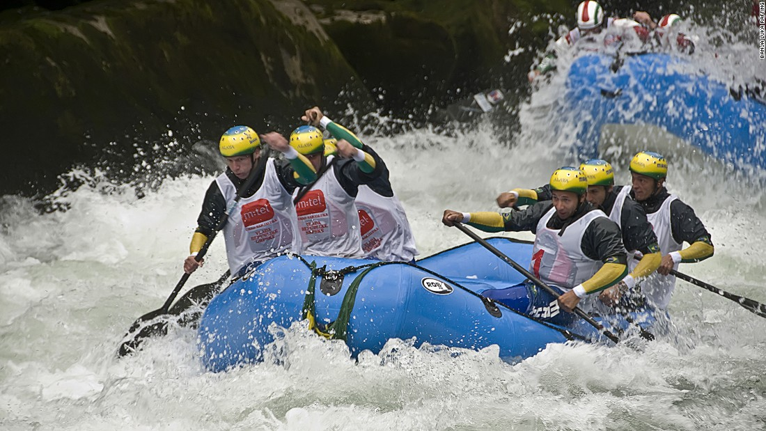 Banja Luka, home to the river Vrabas, is a popular destination for rafting and adventure sports.