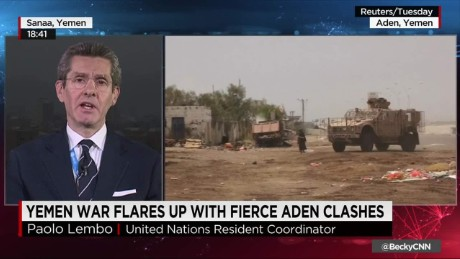 exp Yemen Conflict Flares up _00002001