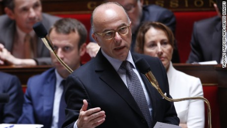 French Interior Minister Bernard Cazeneuve, shown in a photo from July, announced the arrests.