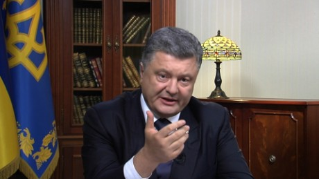 Ukraine President: MH17 culprits must take 'responsibility'