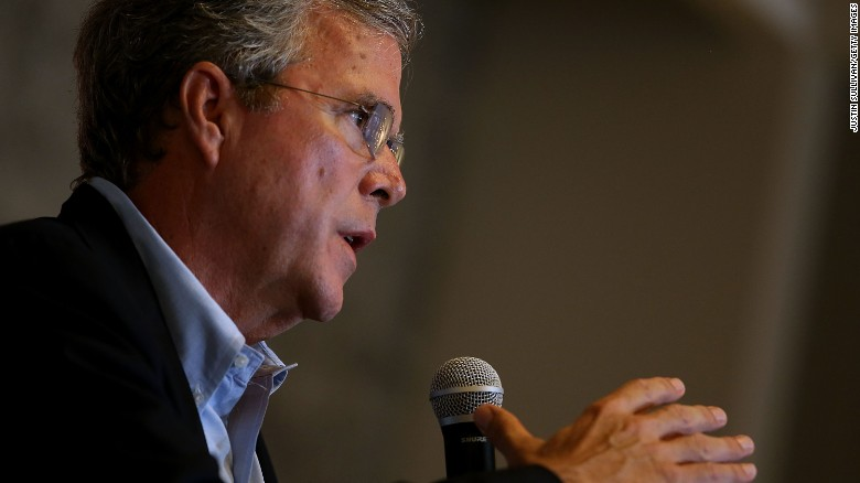 Jeb Bush: No apology necessary for 'all lives matter'