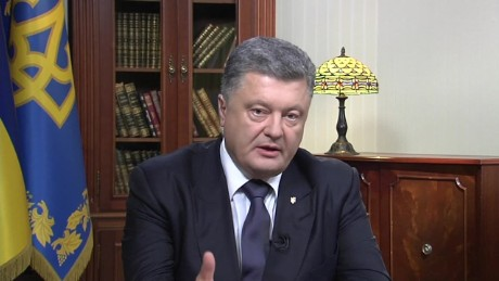 intv ukraine amanpour Petro Poroshenko_00021704