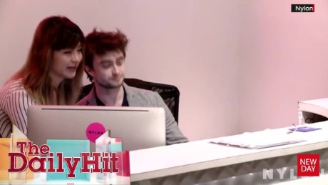Daniel Radcliffe Receptionist Daily Hit NewDay_00010130